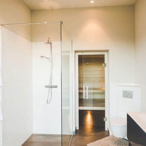 Glasdusche Walk In Dusche aus Glas
