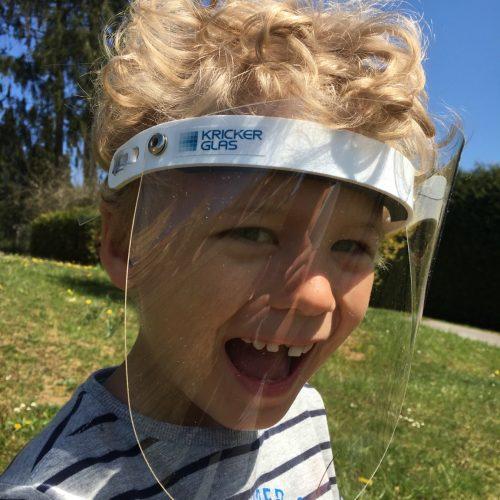 Corona Hygiene Maske Gesichtsschutzmaske Gesichtsschutzschirm Gesichtsschutzvisier für Kinder