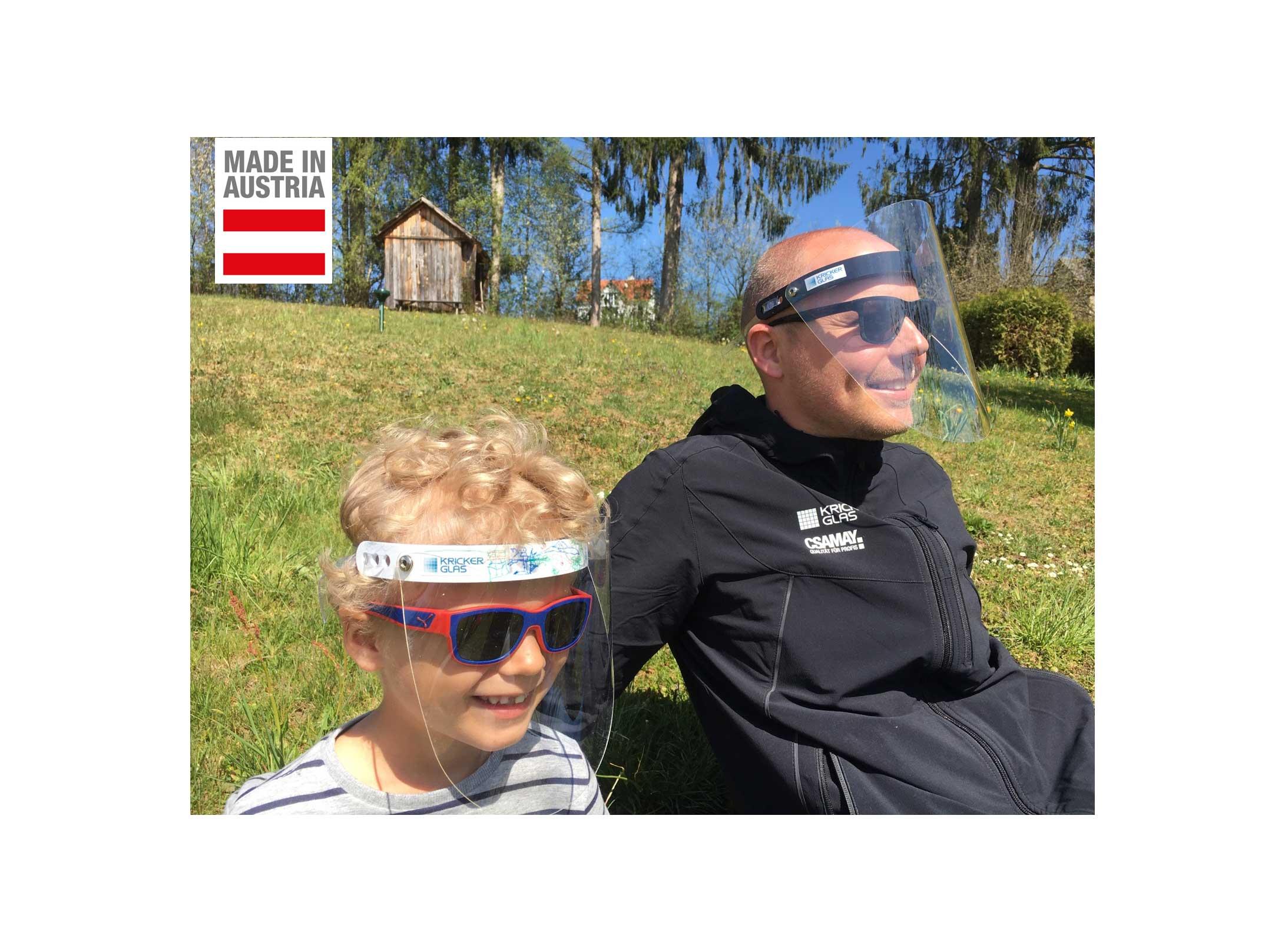 Corona Hygiene Maske Gesichtsschutzmaske Gesichtsschutzschirm Gesichtsschutzvisier auch für Kinder