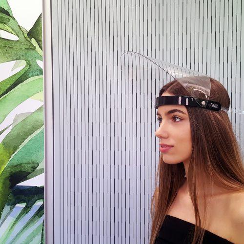 Corona Hygiene Maske Gesichtsschutzmaske Gesichtsschutzschirm Gesichtsschutzvisier