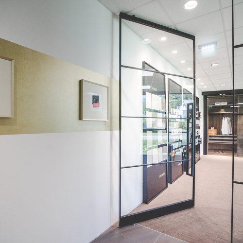 Axis Pivot Türen Office Büro Pivot Türe Fixteil Trennwand