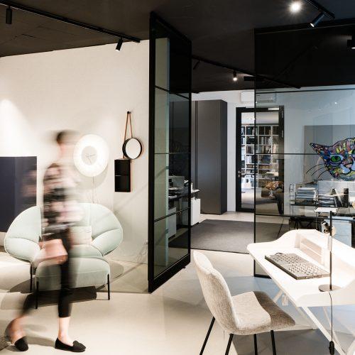 AXIS Pivot Türen Loft Türen _ Showroom Graz Möbel Spätauf
