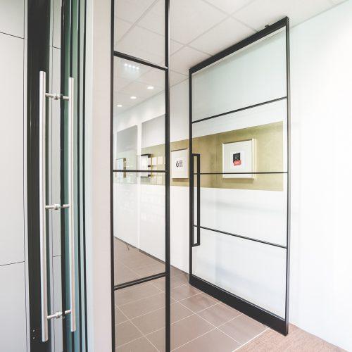 AXIS Pivot Türen Loftüren Showroom Ludersdorf Gleisdorf